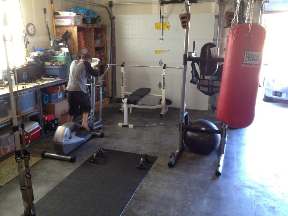 Crossfit gym home style gary marsh